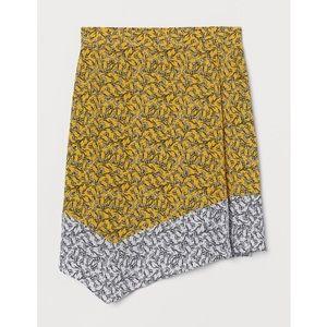 NWT H&M Wrapover Viscose Skirt